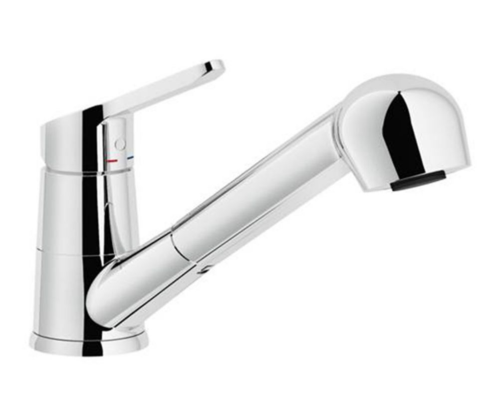 Abby Pull Out, Dual Spray Faucet, Chrome