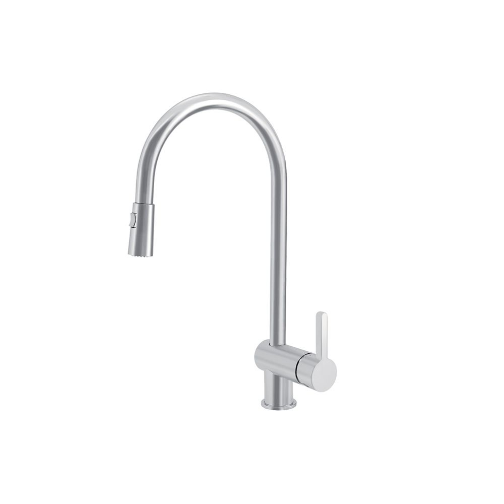Rita, Pull Out, Dual Spray Faucet, Stainless Steel