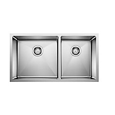 Quatrus R15 U1.75, Stainless Steel Sink, 1.75 Sinks 9 In., Undermount