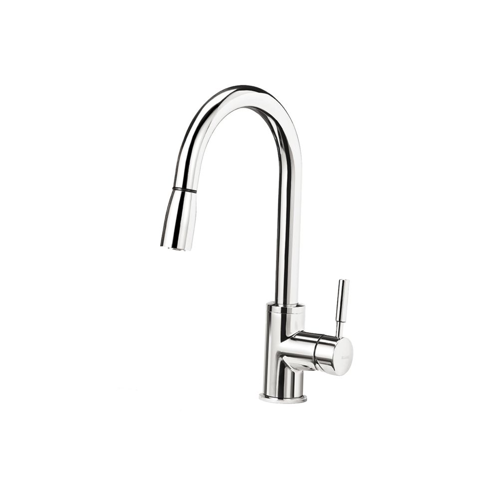 Blanco Kitchen Faucet Pull Out Square Spray Chrome