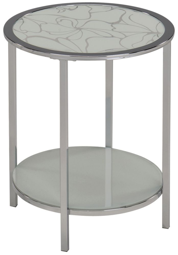 Olivia-Accent Table-White