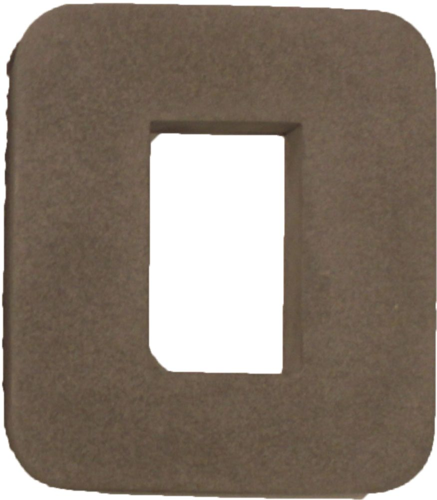 Stonecraft Receptacle Box Outer 7 Inch X 8 Inch X 1.5 Inch Gray