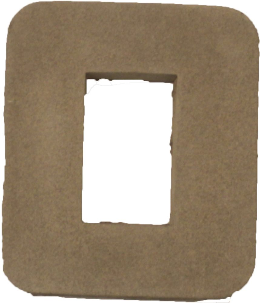 Stonecraft Receptacle Box Outer 7 Inch X 8 Inch X 1.5 Inch Cream