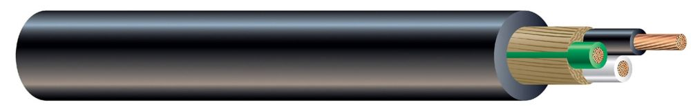 10/3 SJOOW 250 Feet Black