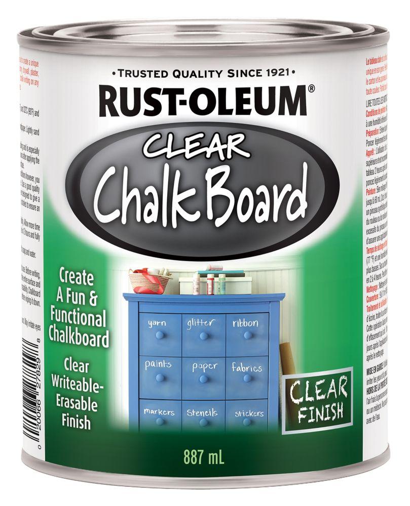 Rustoleum Specialty Clear Chalkboard