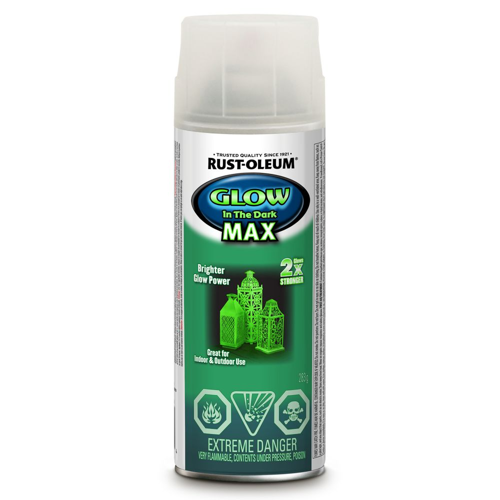 Rustoleum rustoleum speciality glow in the dark max the for 7 home depot
