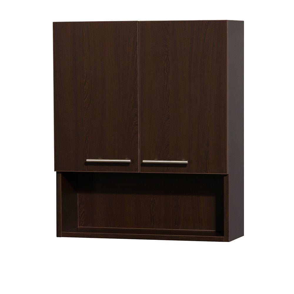 Amare Espresso Wall Cabinet