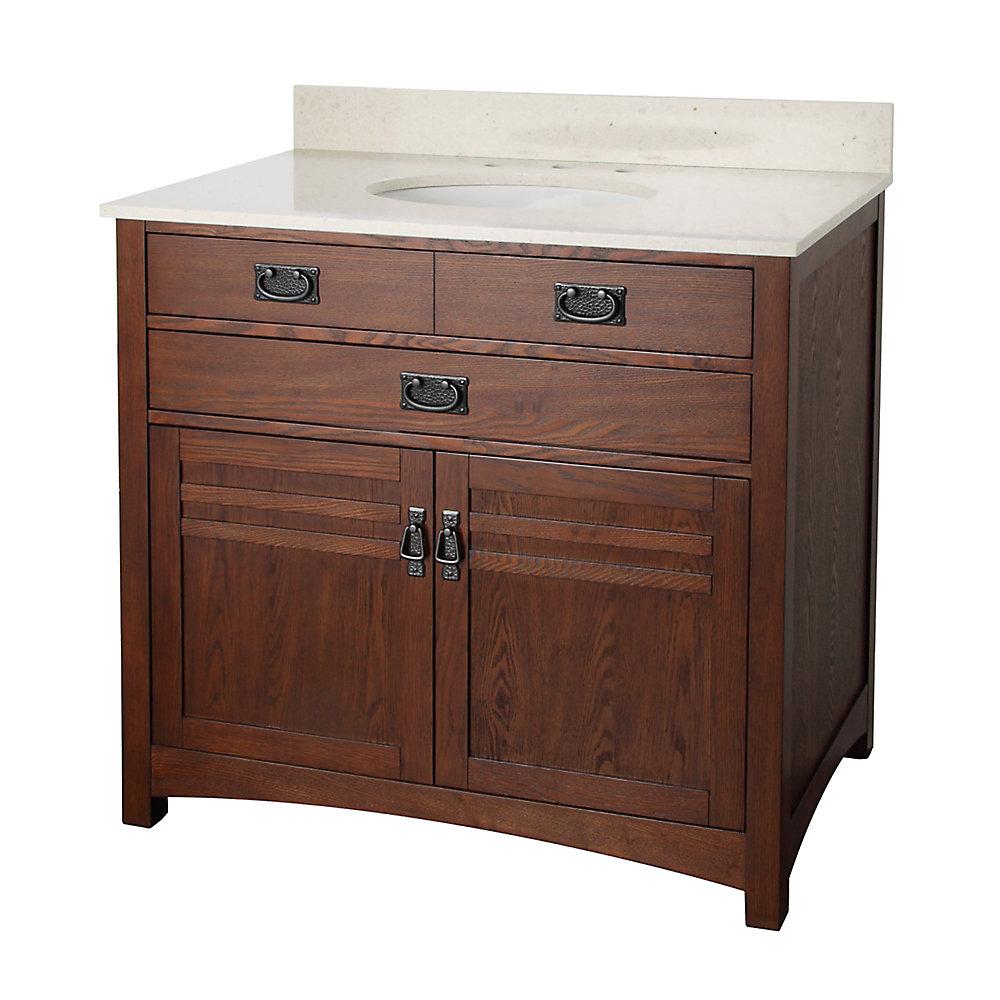 Cornell ensemble de meuble-lavabo de 36 po