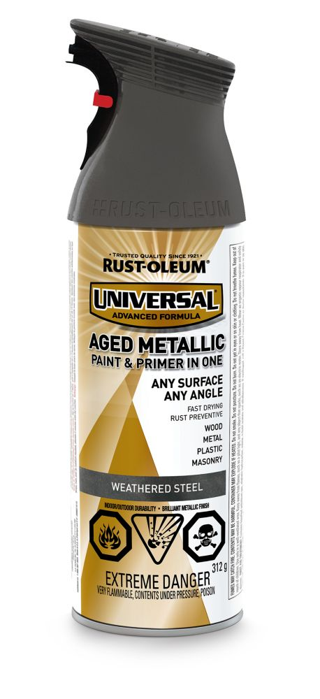 Universal Aged Weathered Steel