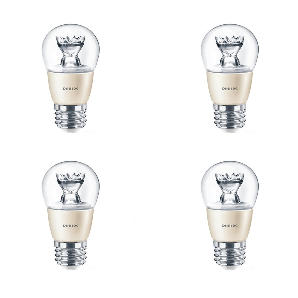 LED 4.5W = 40W A-Line (A15) Fan Medium Base Soft White (2700K) - Case of 4 Bulbs