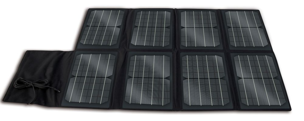 Panneau solaire monocristallin repliable de 80W