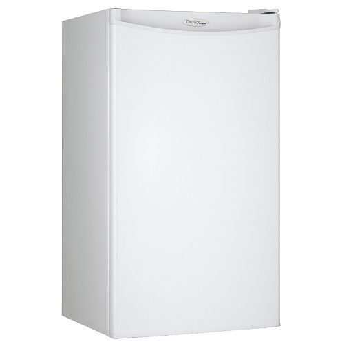 Danby Designer 3.2 cu. ft. Compact Refrigerator in White - ENERGY STAR®