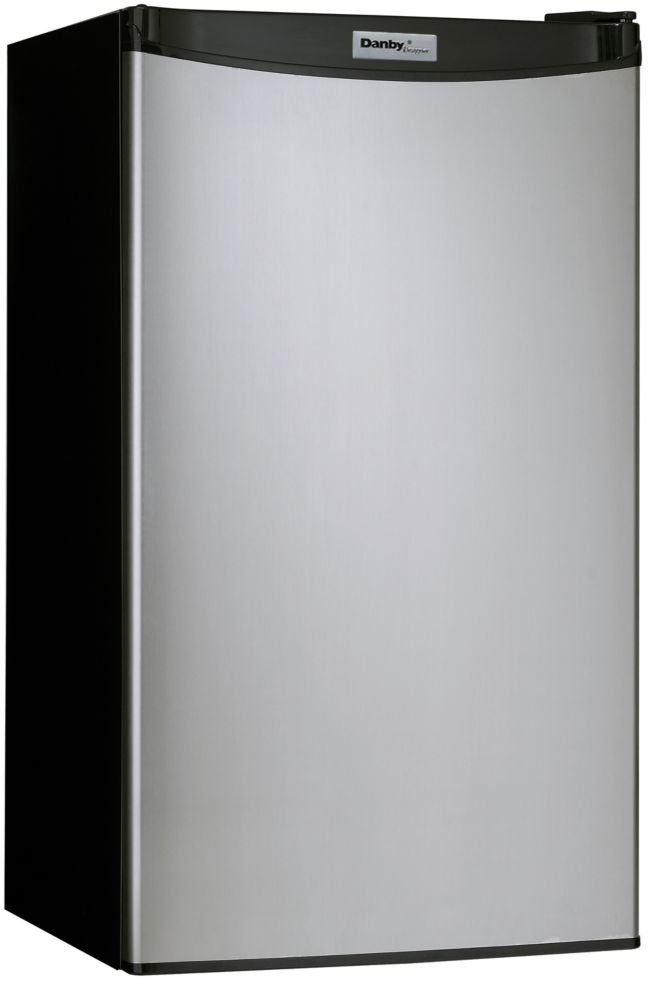 Designer 3.2 cu. ft. Compact Fridge in Spotless Steel - ENERGY STAR®