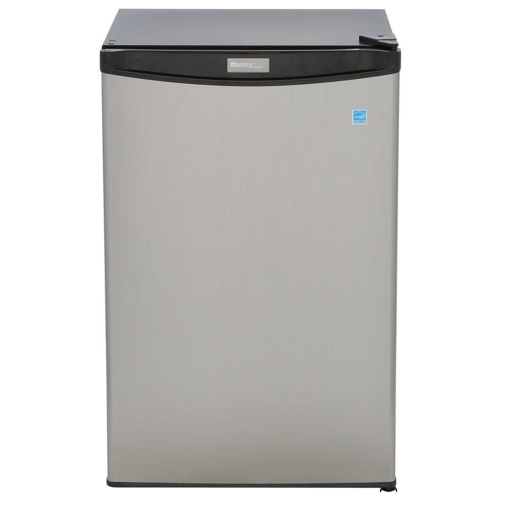 Danby Designer 4.4 cu. ft. Compact Fridge in Spotless Steel - ENERGY STAR®
