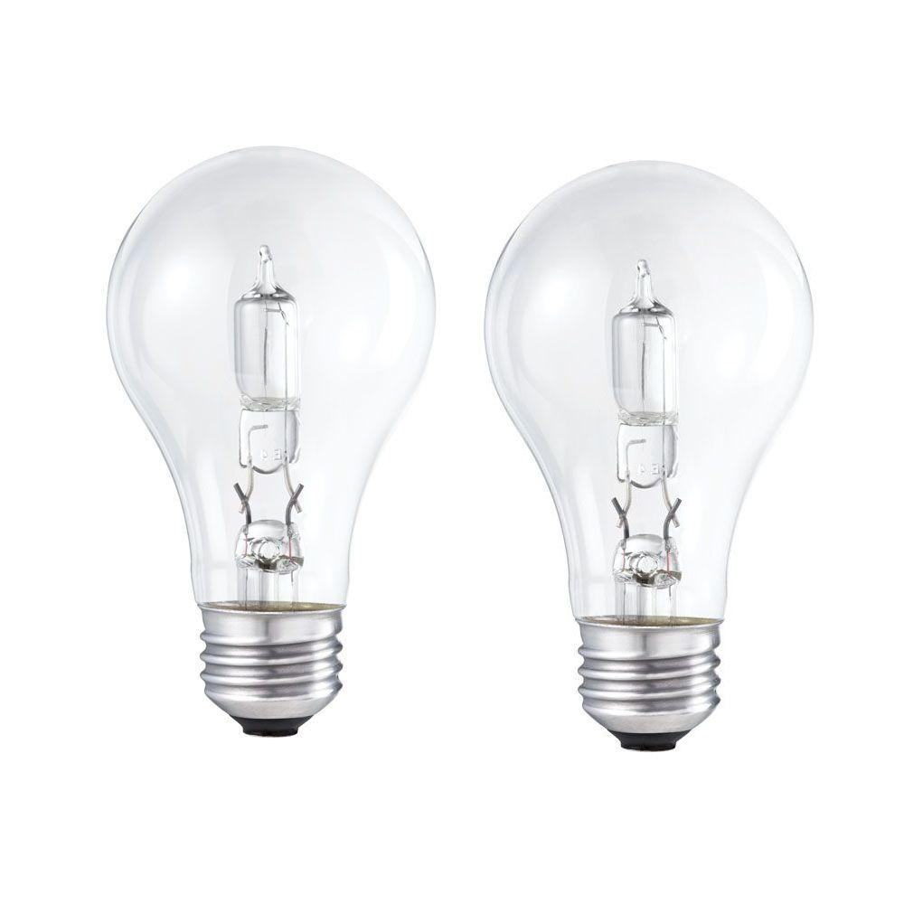 EcoVantage Ampoule éconergétique-Halogène Usage domestique 29 W= 40 W  Claire  - 2/paq.
