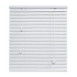 Hampton Bay White 1 3/8 Inch.  Premium Aluminum Blind 60x48