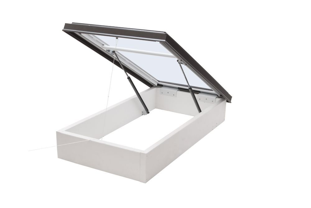 Columbia Skylights 3 ft. x 3 ft. Roof Access Glass Skylight