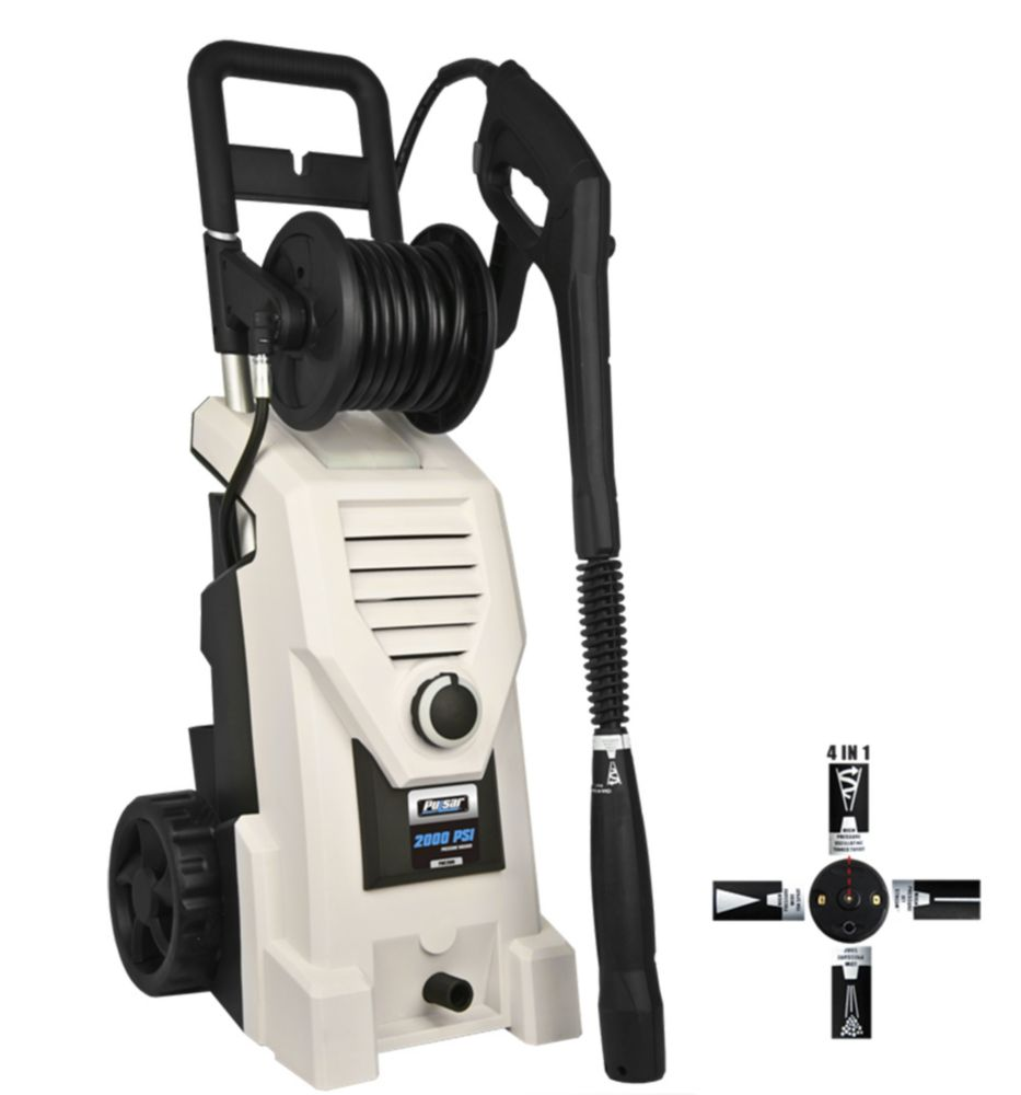 2000-PSI 1.6 GPM Electric Pressure Washer