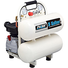 Compresseur dair Pulsar à réservoir double de 5 gallons