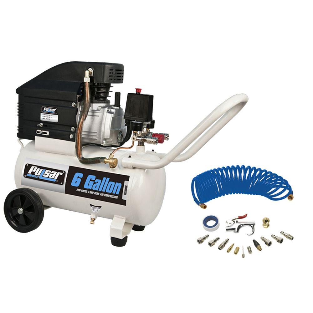 Pulsar 6 gallon Air Compressor with kit