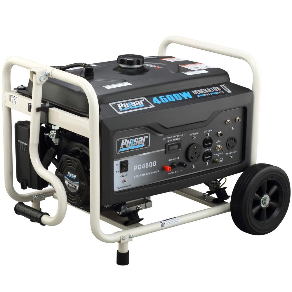 Génératrice Pulsar de 4500 watts