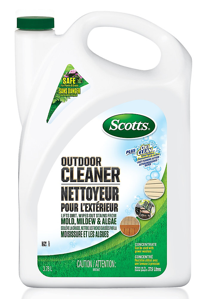 Scotts Outdoor Cleaner Plus Oxi Clean 3 78 L Concentrate