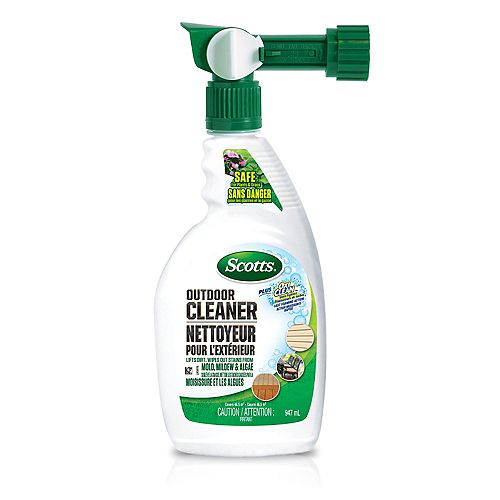 Scotts 947 mL Outdoor Cleaner Plus Oxi Clean in Spray Bottle