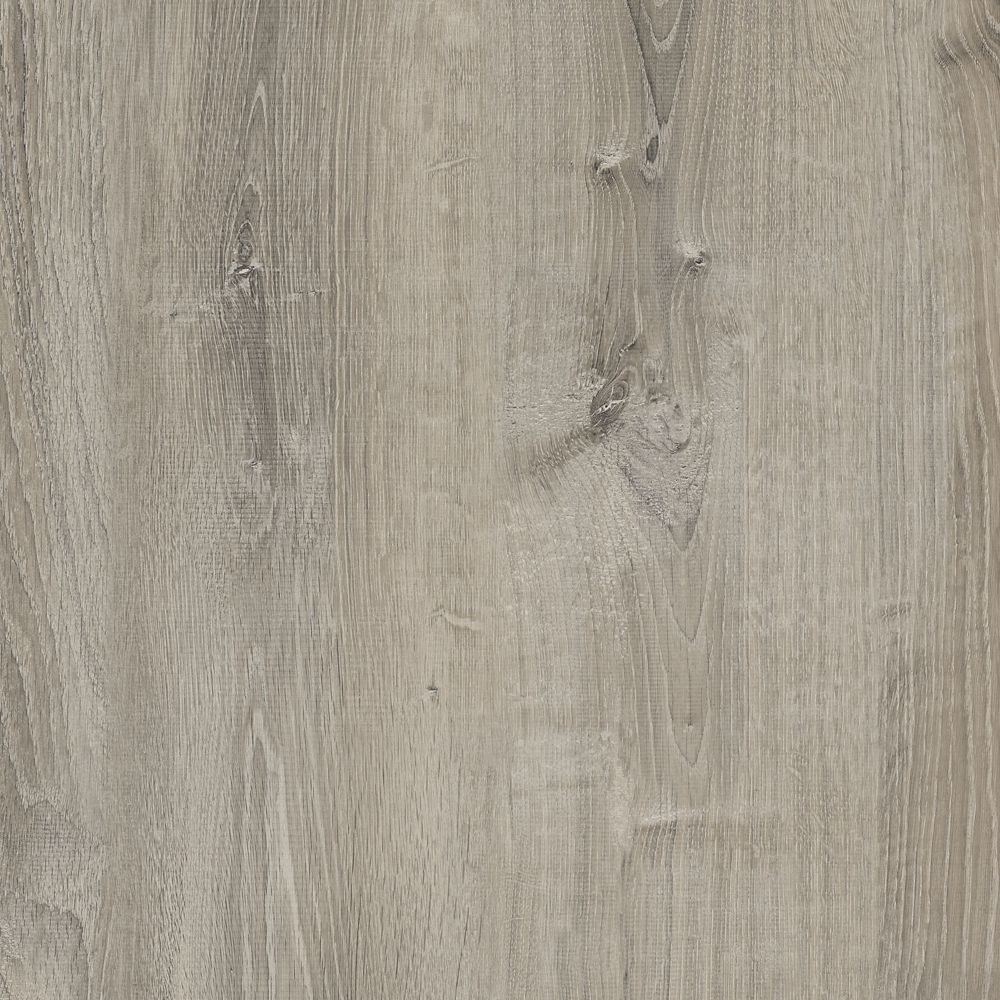 Wide Smoked Oak Silver 8.7 Inch. x 47.6 Inch. Resilient Vinyl Plank Flooring (20.06 sq. ft. / cas...