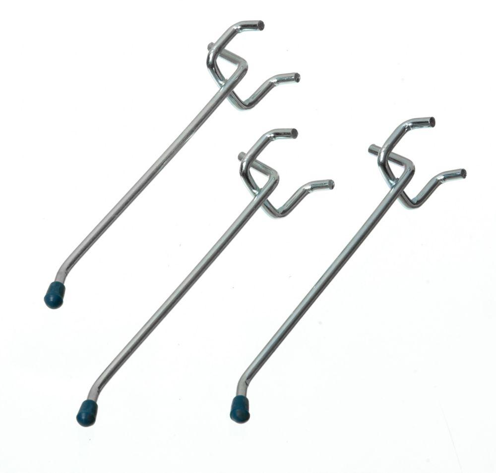 4 Inch Straight Pegboard Hooks