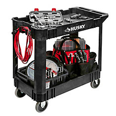 17-inch x 33-inch x 34-inch Rolling Utility Cart