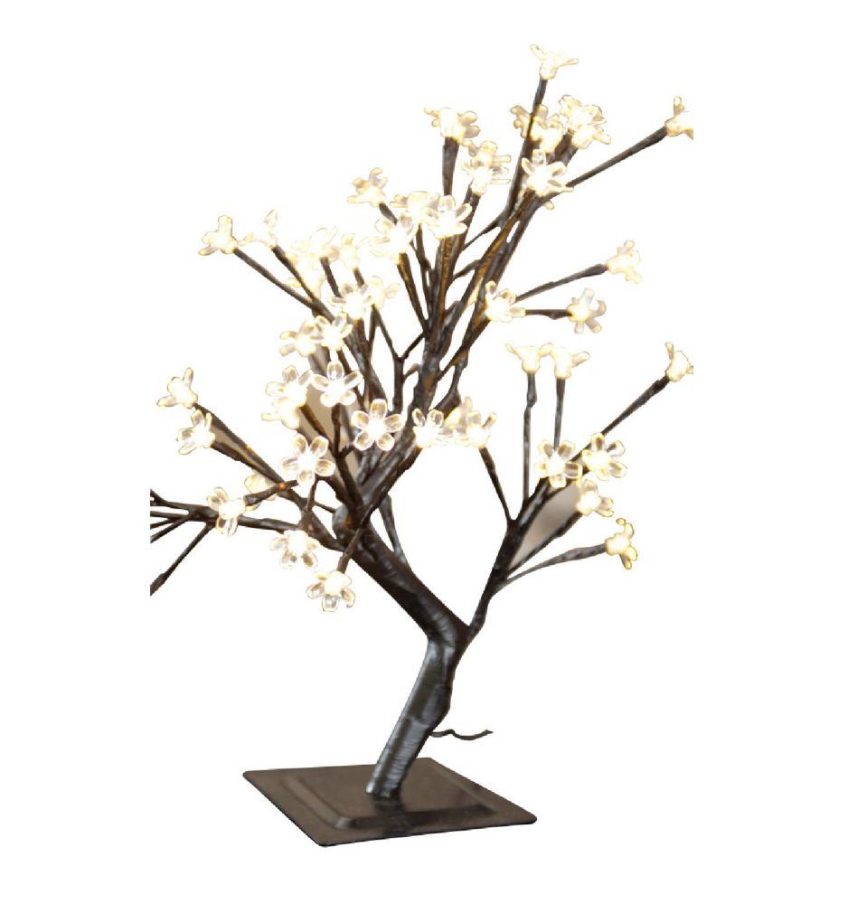 Lumières florales-  Bonsaï de table, 96 lumières  DELS blanc chaud , pour intérieur\extérieur. 22...