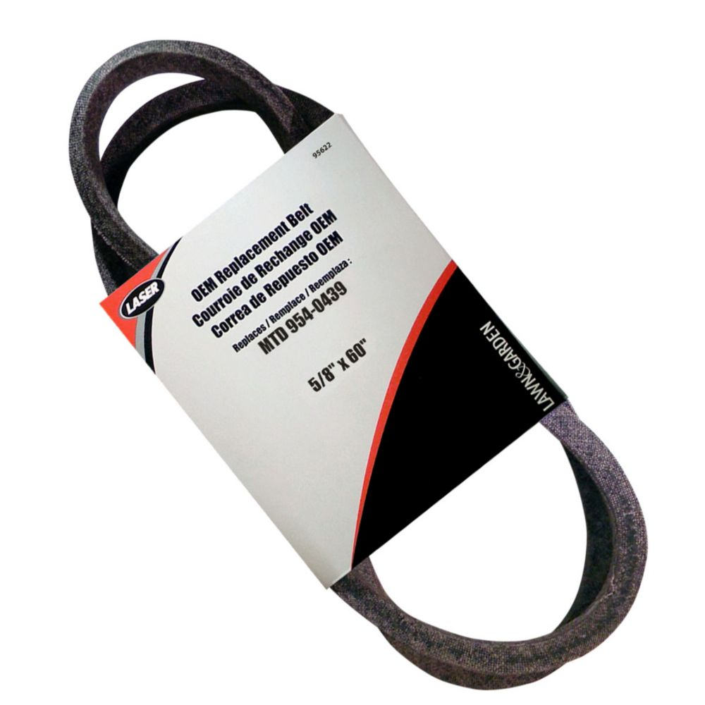 Belt 5/8 x 60 Replaces MTD 954-0439