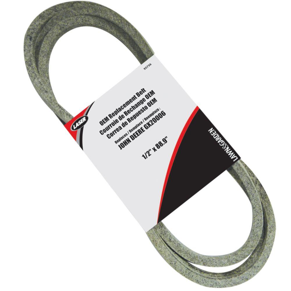 Belt 1/2 X 88.9 Replaces Deere GX20006 95756 Canada Discount