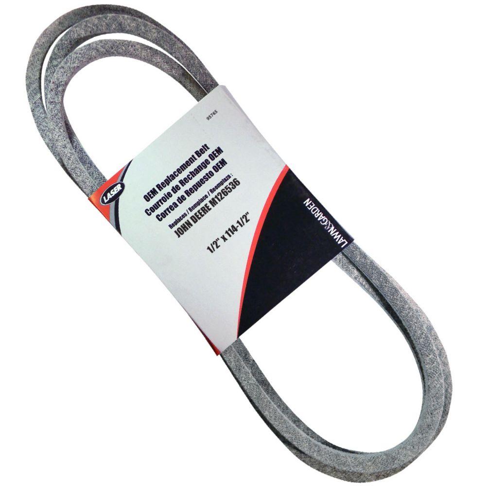 Belt 1/2 X 114-1/2 Replaces Deere M126536