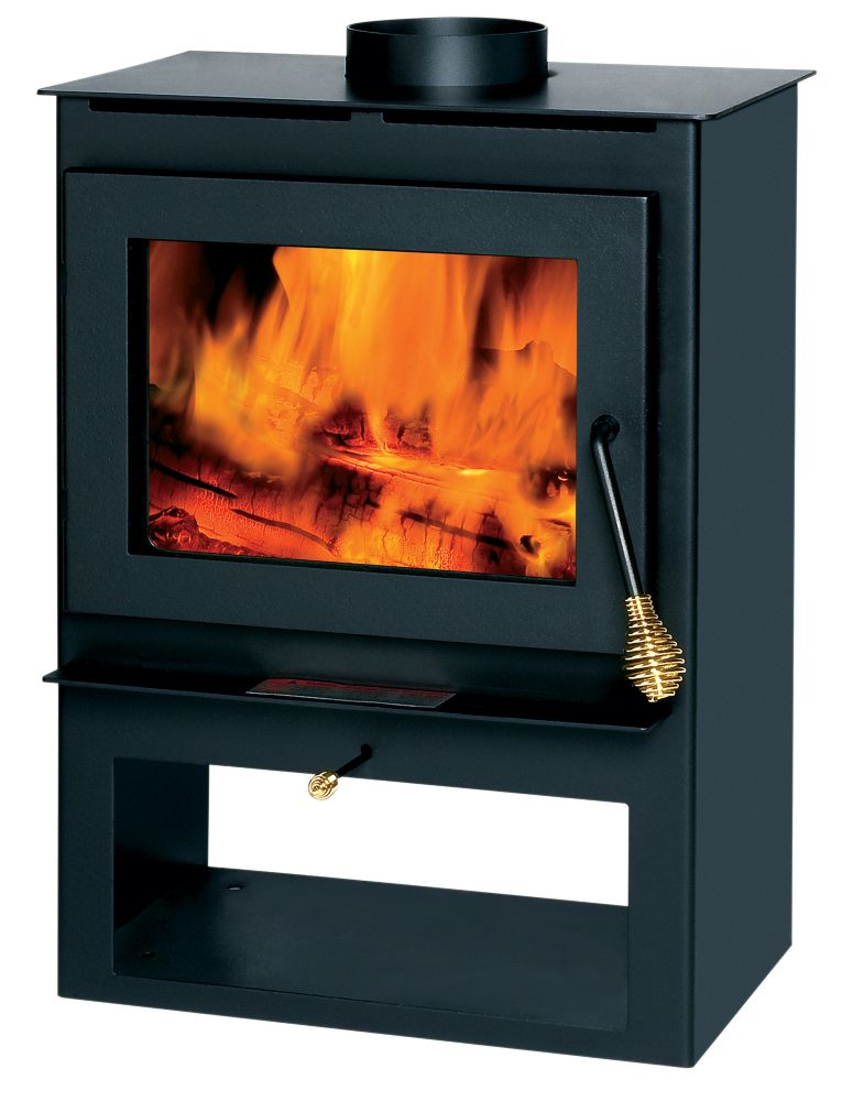 1200 Square Foot Wood-Burning Stove
