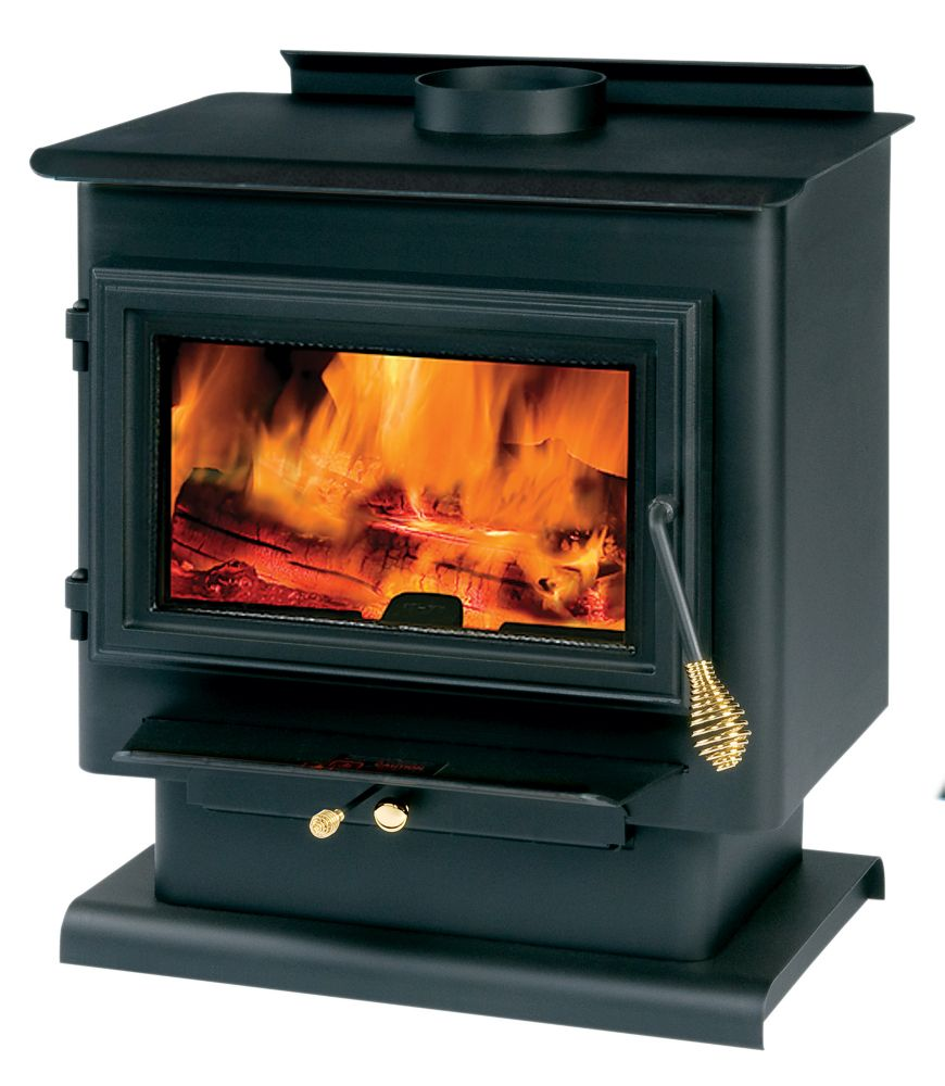 1800 Square Foot Wood-Burning Stove