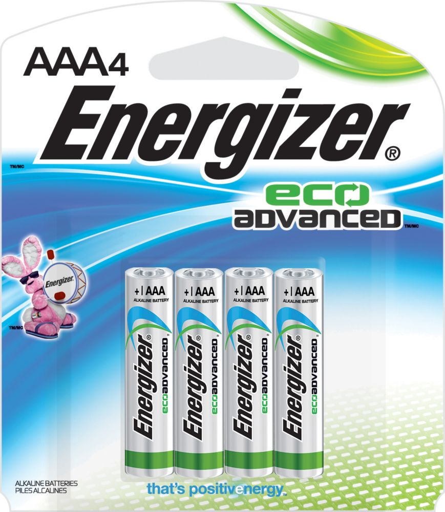 ENERGIZER ECOADVANCED AAA4