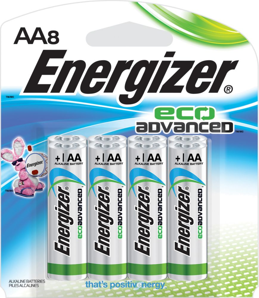 ENERGIZER ECOADVANCED AA8