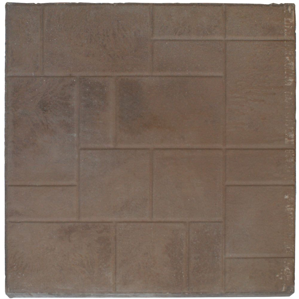 Patio Slab - 24x24 - Random Face Brown