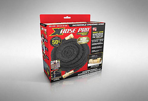 easy flexible garden hose home depot. Expanding Garden Hose Big Boss XHose Pro 50 ft  The Home Depot Canada
