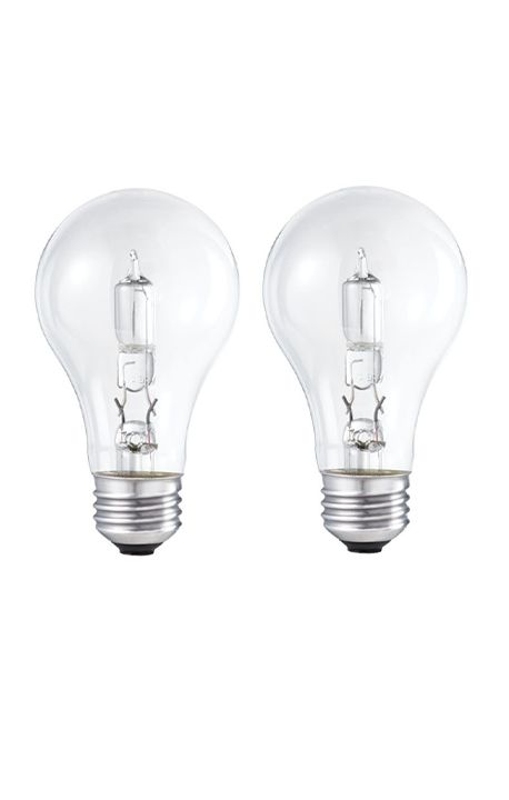 Halogen 60W A-Line (A19) Clear 2 Pack
