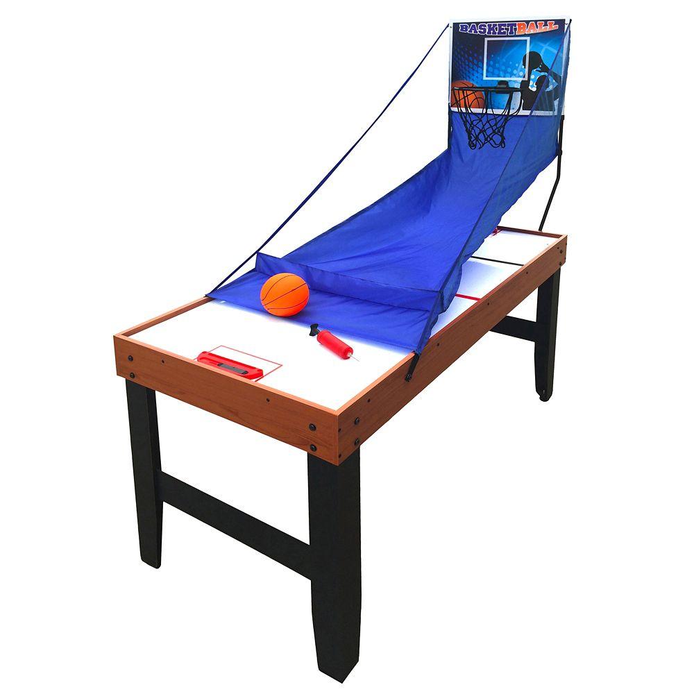 Table multi-jeux Accelerator 4-en-1, (1,37 m)