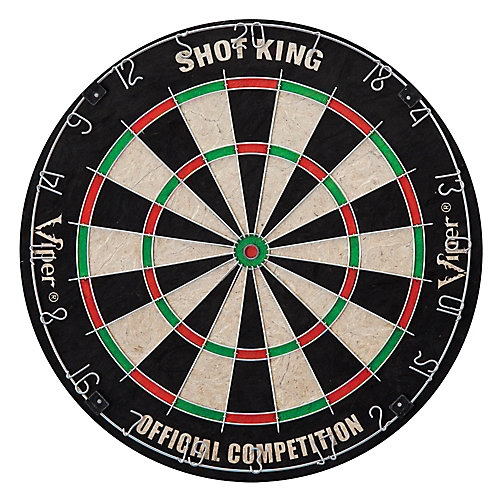 Shot King Sisal 18-inch Dart Board