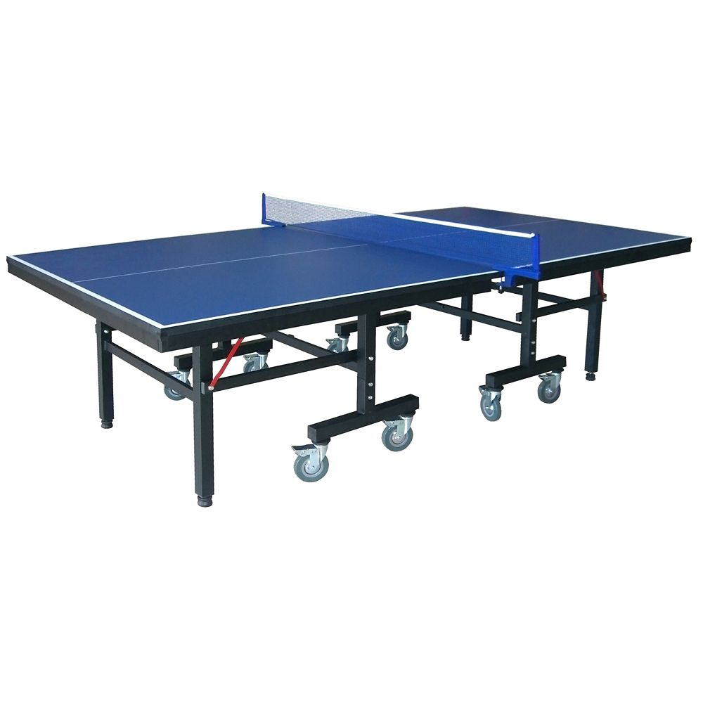 Hathaway Victory Professional 9-Foot Table Tennis Table with 25mm Thick Surface, 2-Inch Steel Supports