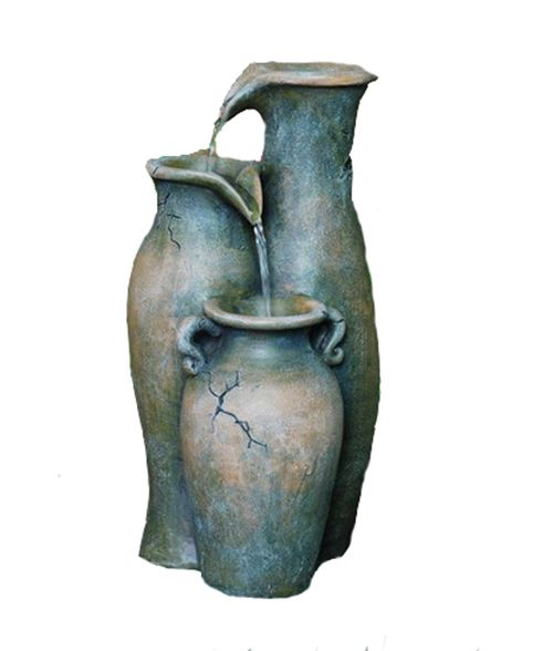 Fountain - Pouring Jugs, 12 Inch H
