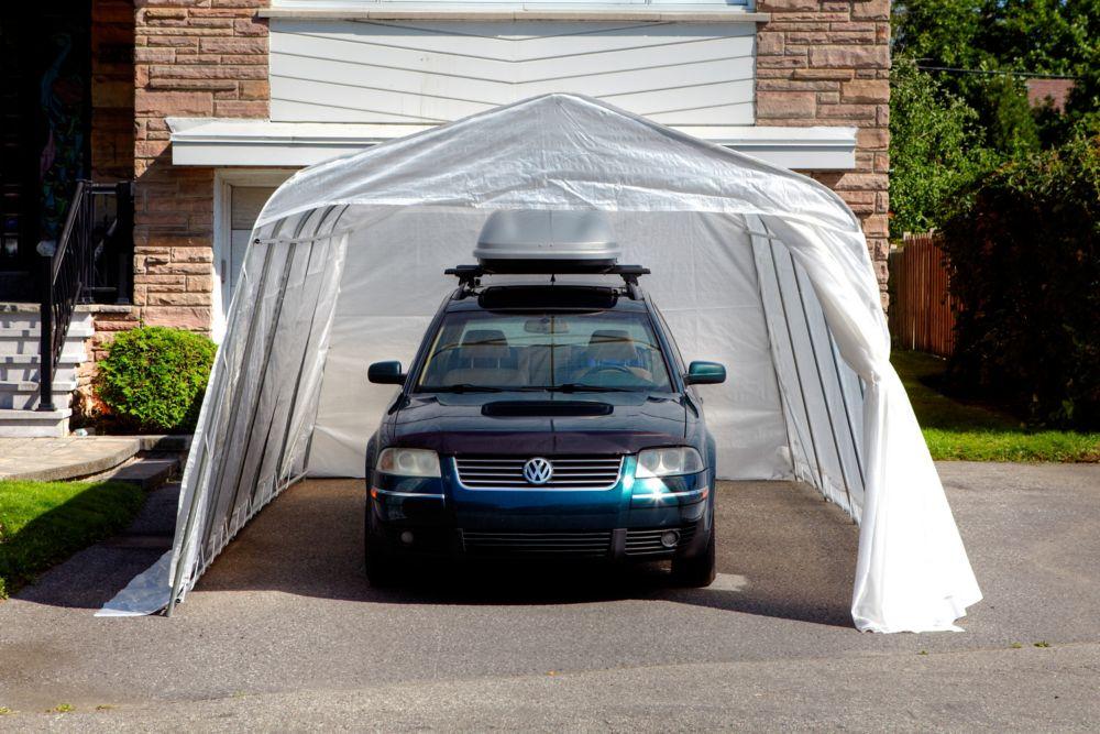 Abri d'auto Bronco 11'x16' Toile claire