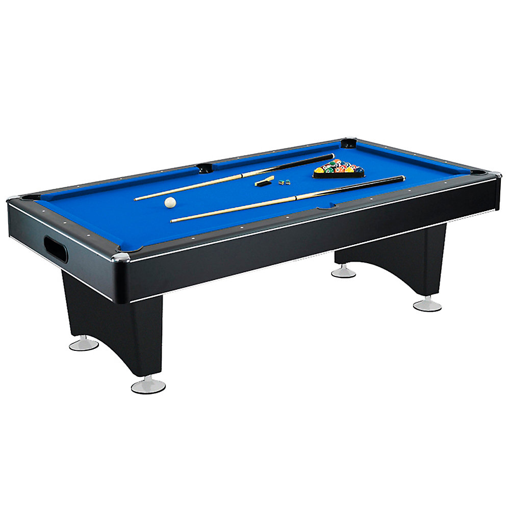 Marvelous Hustler 88 Inch X 44 Inch Pool Table In Black Home Interior And Landscaping Sapresignezvosmurscom