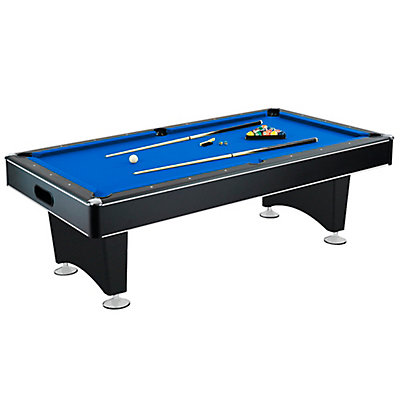 Hathaway Hustler Inch X Inch Pool Table In Black The Home - 44x88 pool table