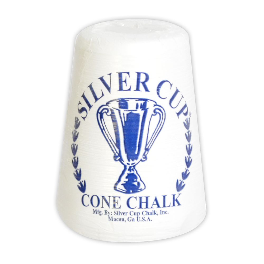 "Contenant de talc ""Silver Cup Cone Chalk"""