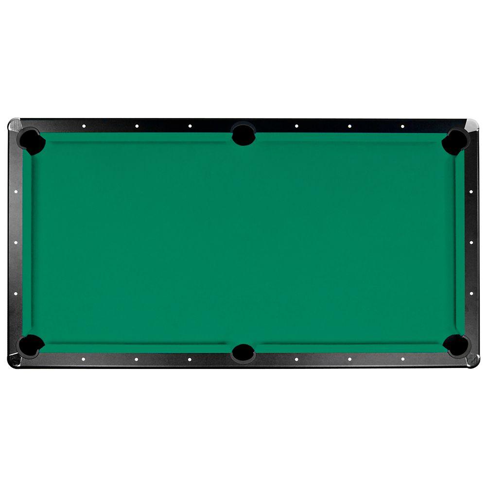 Tapis de feutre Championship Saturn II pour table de billard - 2 m 13 - vert